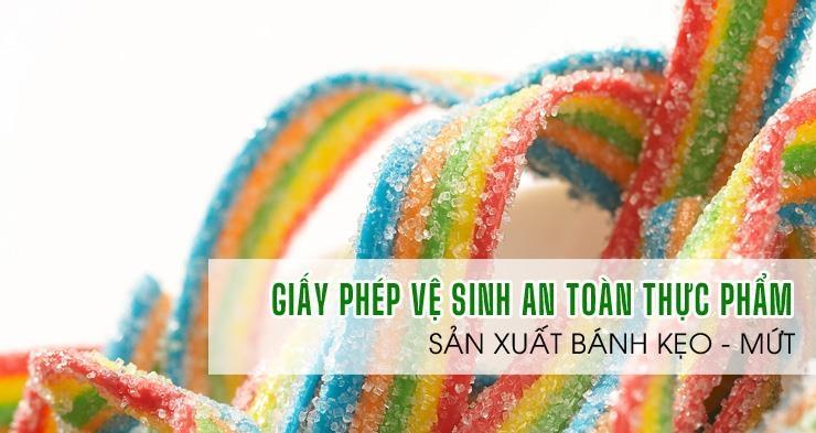 ATV-Giấy phép an toàn thực phẩm sản xuất bánh kẹo theo Nghị định 15/2018