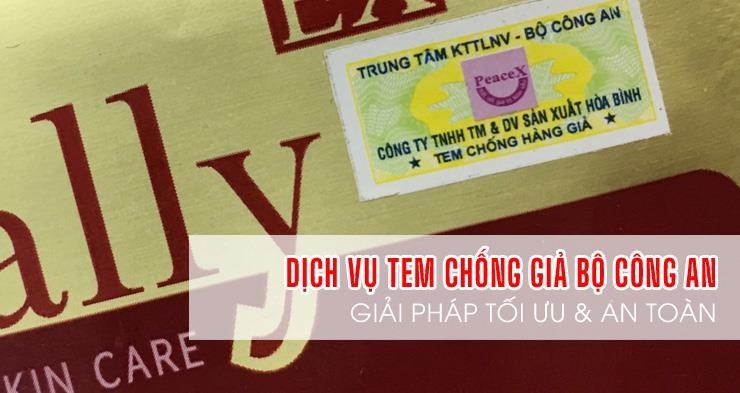 ATV-Cung cấp tem chống hàng giả của Bộ Công An rẻ nhất tại Hồ Chí Minh