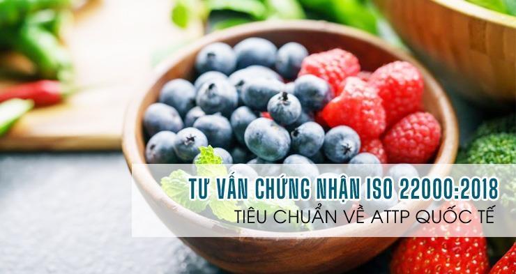 ATV-Tư vấn chứng nhận tiêu chuẩn An toàn thực phẩm ISO 22000:2018