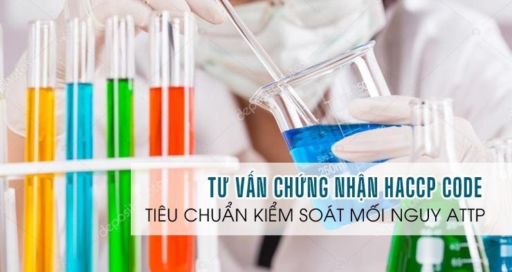 ATV-Dịch vụ tư vấn chứng nhận tiêu chuẩn HACCP Code trọn gói